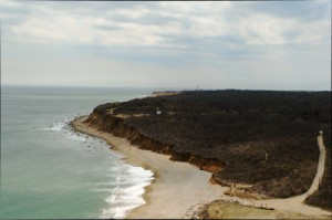 Montauk Point Coastline