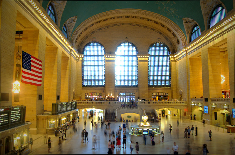 Evening at Grand Central